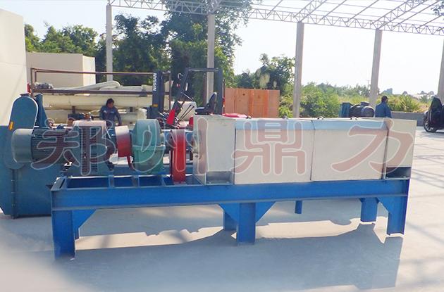 老挝啤酒糟脱水机项目案例